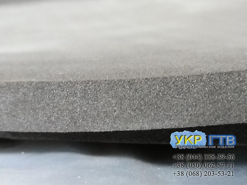 Резина микропористая 3-25 мм (+ клеевой слой под заказ)