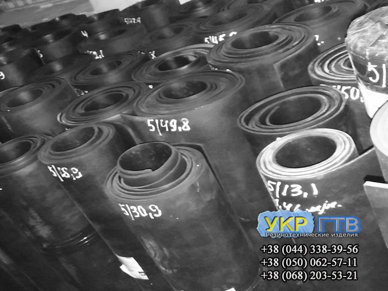 Техпластина МБС, ТМКЩ 1- 40 мм  ГОСТ 7338-90