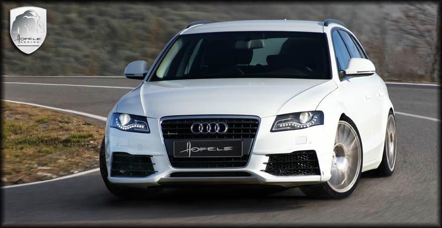 Front Bumper Of Hofele For Audi A4 B8 Buy In Kiev