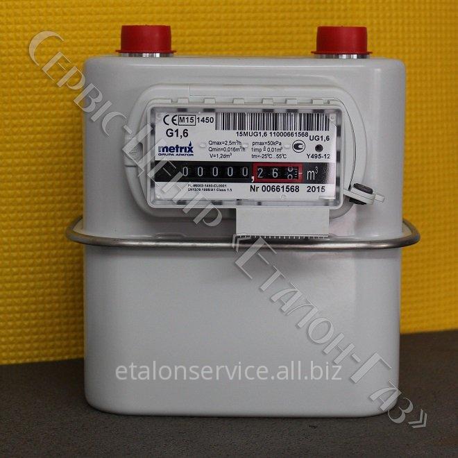 Лічильник газу METRIX G1,6 (110 мм - 3/4 дюйми)
