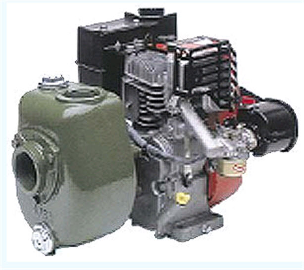 Насос SAER AS97 Приводной (ДВС) самовсасывающий насос (с открытым рабочим колесом)