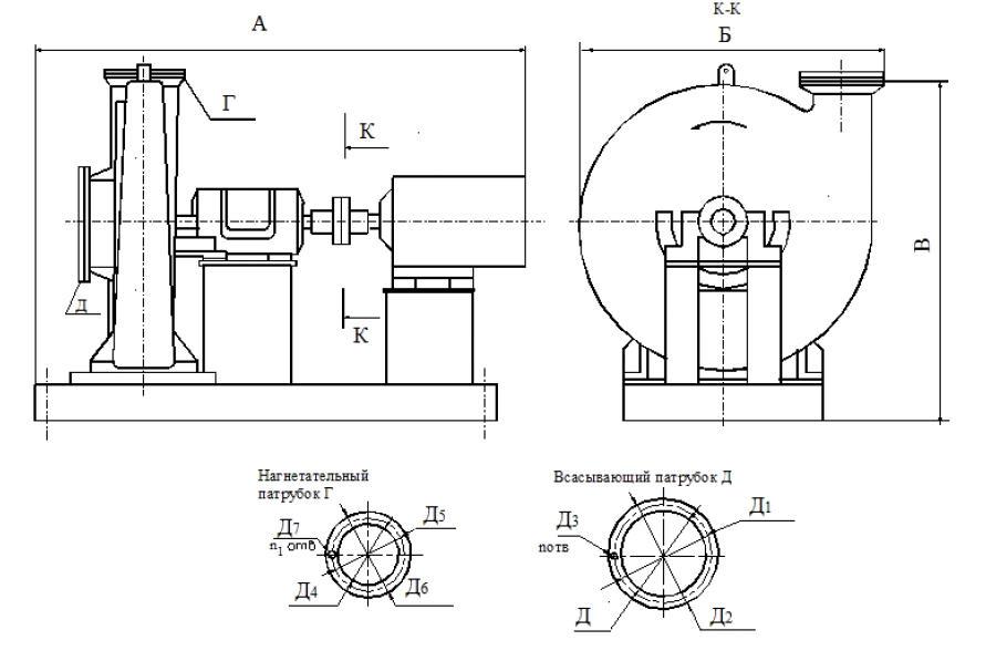 Турбокомпрессоры воздушные ТВ-100
