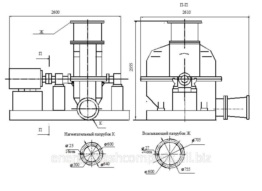 Турбокомпрессор газовый ТГ-300