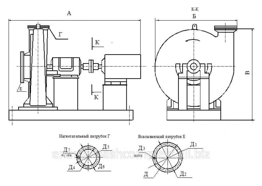 Турбокомпрессор газовый ТГ-150