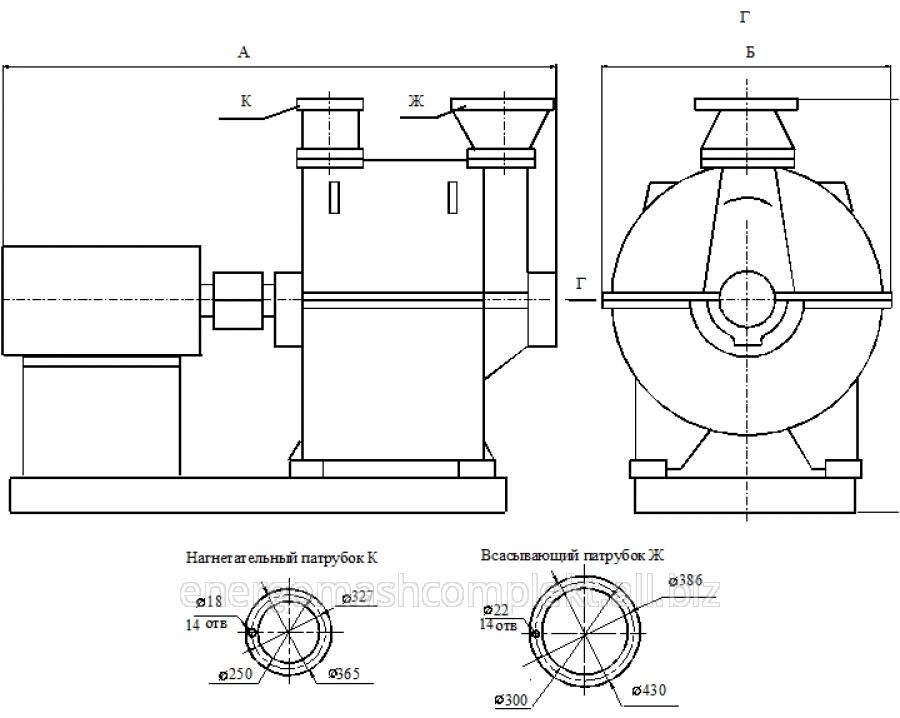 Турбокомпрессор газовый ТГ-60