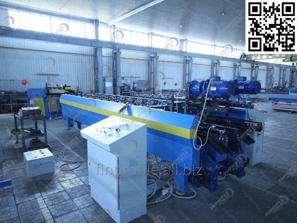 Линия автоматическая по производству профилей для монтажа гипсокартонна (Линия U;UD)