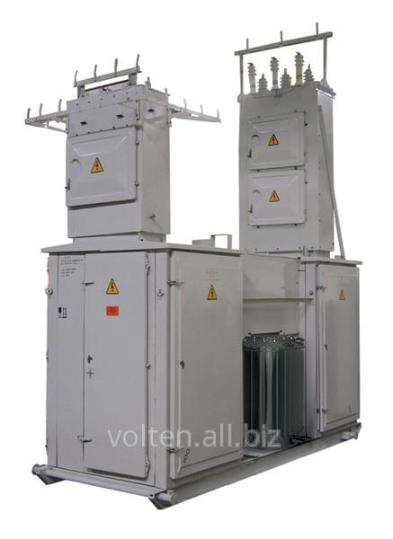 Комплектные трансформаторные подстанции, разрядники вентильные, ограничители перенапряжения нелинейные, разъединители.