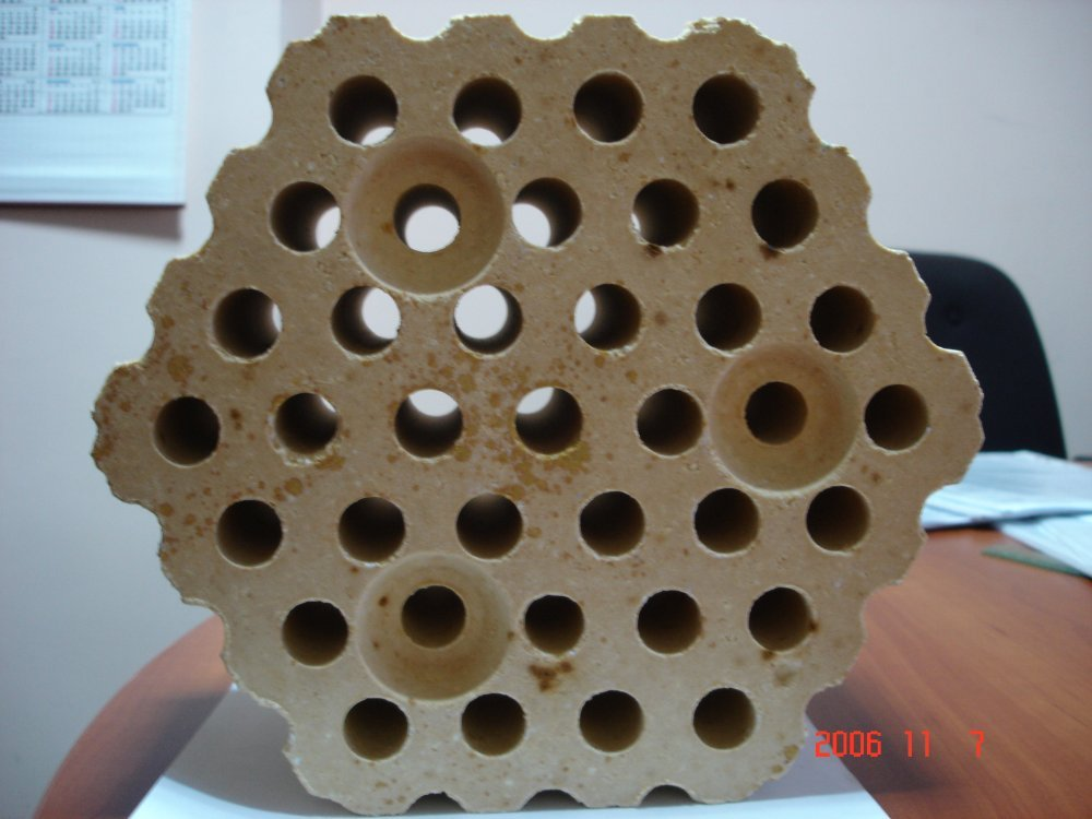 Купити Виробу насадочние для кладки повітронагрівачів доменних печей ШВ-37 №80, ШВ-42 №80