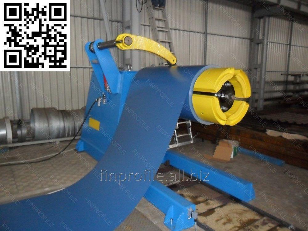 Устройство для размотки рулонного металла консольного типа