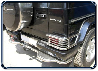 Buy BACK PROTECTION OF THE BUMPER