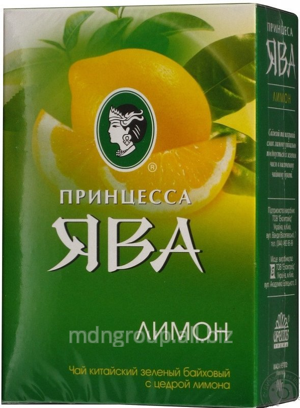 Чай Принцесса Ява Лимон 90г