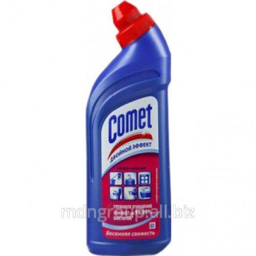 Чистящий Гель Comet Весенняя Свежесть 1л