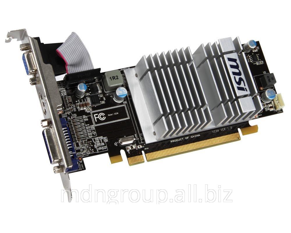 Купить Видеокарта Ati Radeon Hd5450 1gb Gddr3 Msi R5450-Md1gd3h/Lp