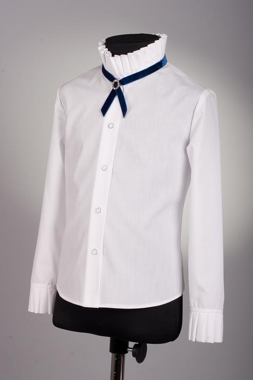 9dcc74f5c31 Блузки Модель 156. Школьная одежда для девочек и мальчиков ОПТОМ от  производителя