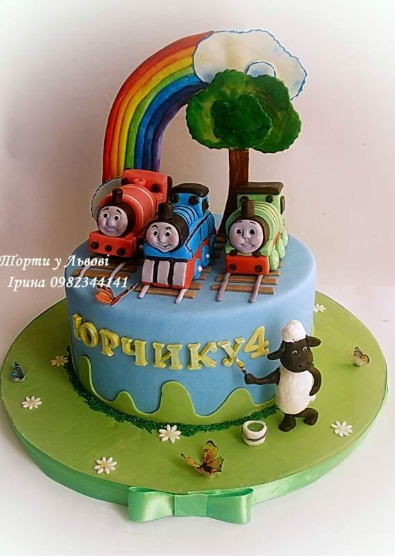 просмотр детских фото торты