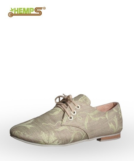 Туфельки жіночі з льна й коноплі «Лана-02» на шнурках. Розмір  36-40 ... f1f7a119d4538