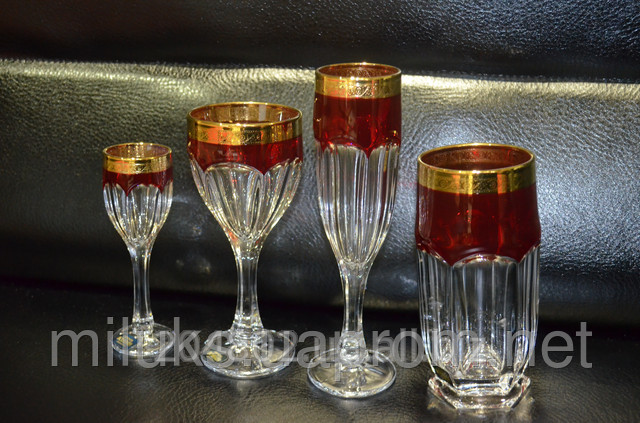 Buy Glass red gold Code: 01088-01091