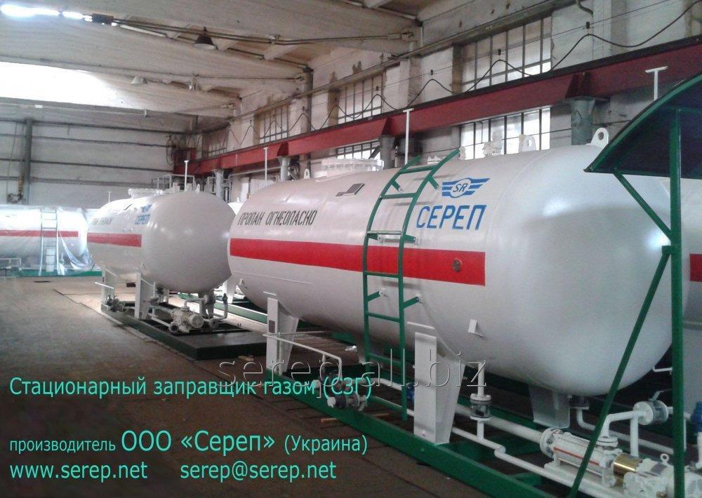 Резервуар для сжиженных углеводородных газов (СУГ) надземный СР056.000.00