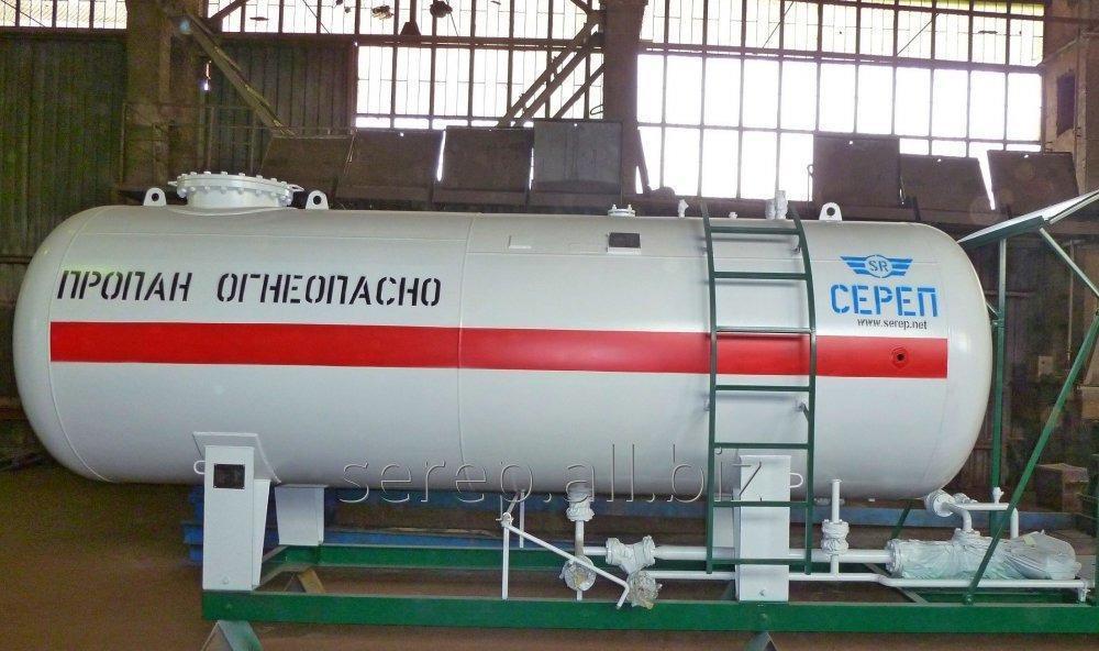 Резервуар для сжиженных углеводородных газов (СУГ) надземный М1-А71723-2
