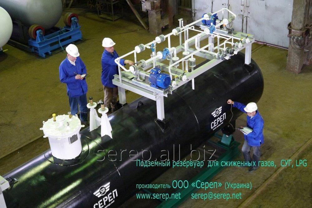 Купить Резервуар для сжиженных углеводородных газов (СУГ) надземный СР057.000.00