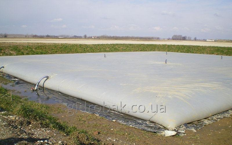 "Гибкий резервуар ""подушка"" для хранения КАС на 200 м3"