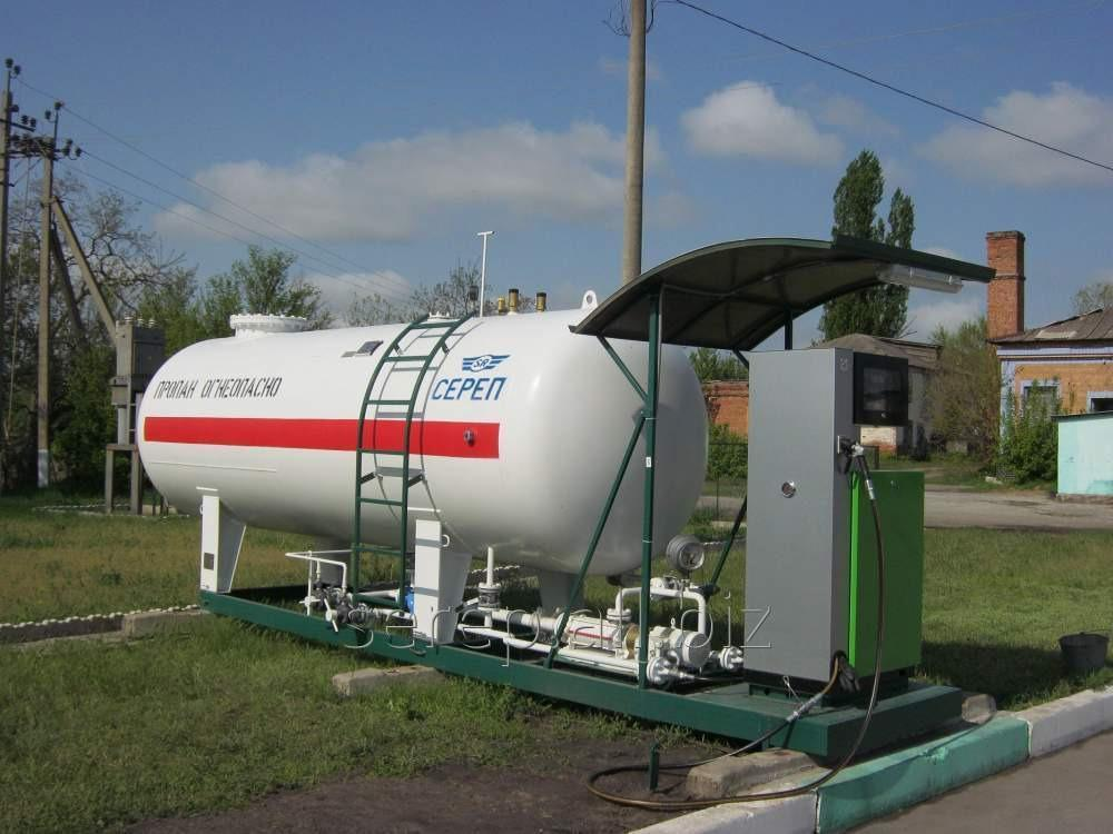Buy The tank for the liquefied hydrocarbonic gases (LHG) elevated 5007.00.000 AVP