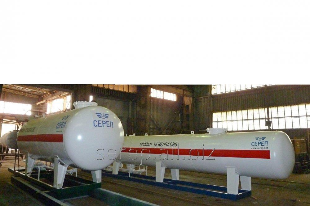 Резервуар для сжиженных углеводородных газов (СУГ) надземный СР053.000.00