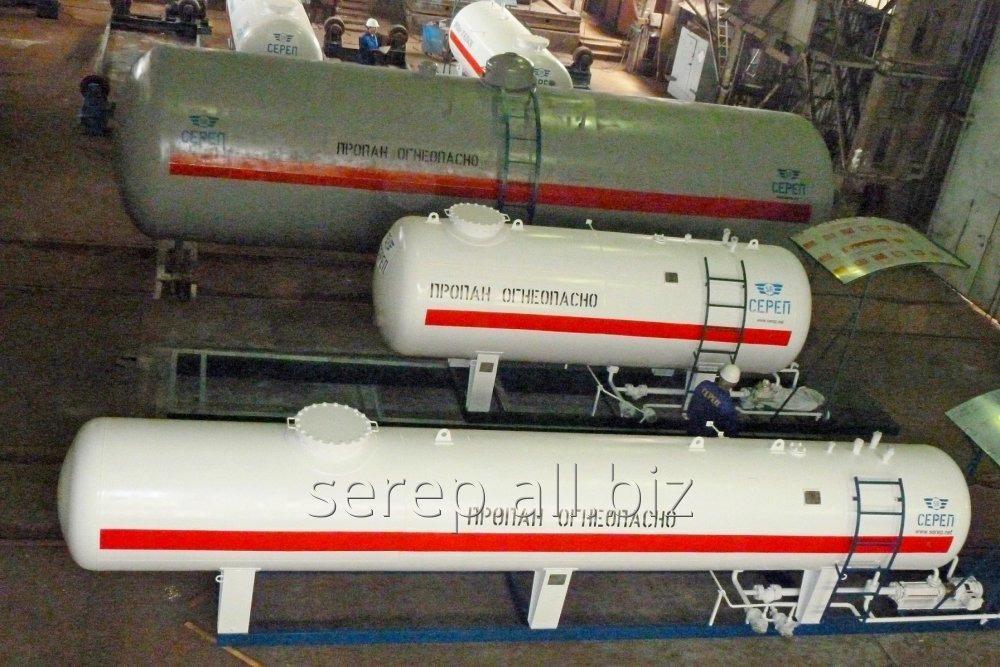 Резервуар для сжиженных углеводородных газов (СУГ) надземный СР054.000.00