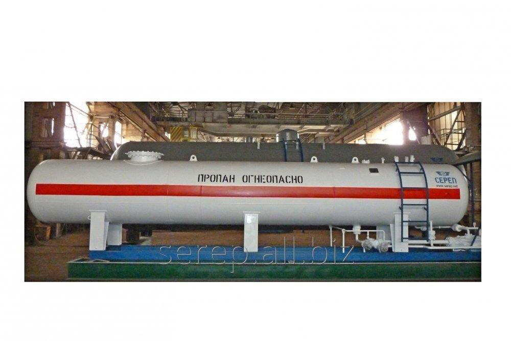 Резервуар для сжиженных углеводородных газов (СУГ) надземный СР054.000.00-01