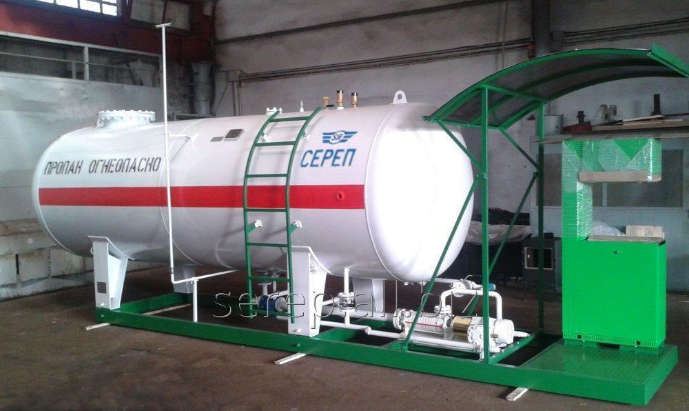 Резервуар для сжиженных углеводородных газов (СУГ) подземный СР071.000.00