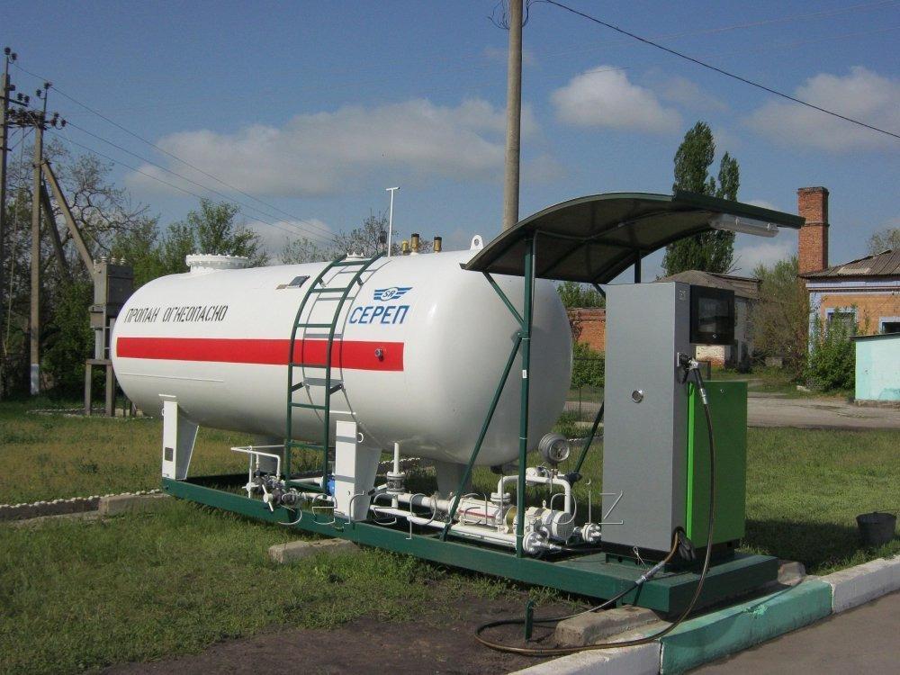 Стационарный заправщик газа