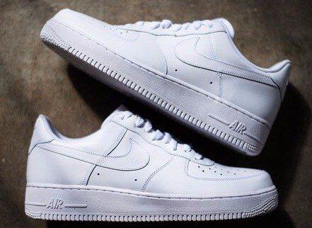 7cee3527 Кроссовки мужские Nike Air Force ( найк аир форс) белые купить в Днепр