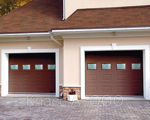 Купить Ворота гаражные секционные гаражные ворота открываются бесшумно и плавно, не нуждаются в дополнительном месте перед гаражом как распашные. Открывание легкое, намного легче щитовых ворот.