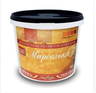 Купить Декоративное покрытие интерьеров Марселька ТМ Капрол-Украина (декоративная шпаклевка марок ШП-13, 14, 15)