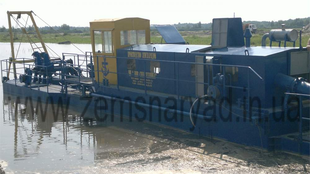 "The NSS 2000/63-GR dredge, is made by the Kherson plant ""VVV Special Equipmen"