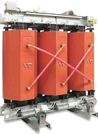 Dry power transformers of tension 6(10)