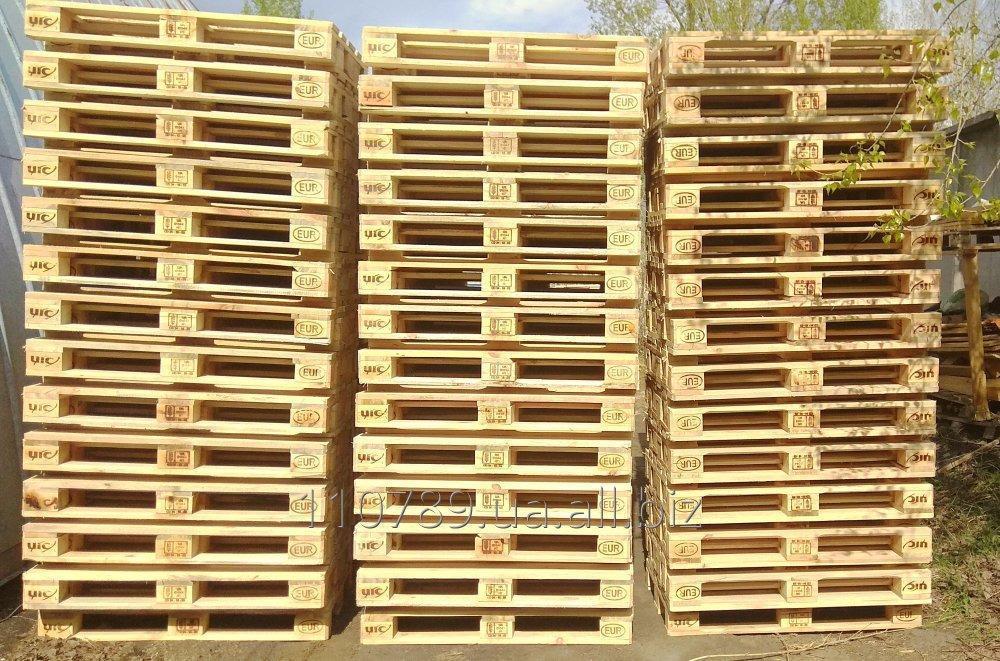 Купить Поддоны деревянные 1200 х 800 лицензия UIC