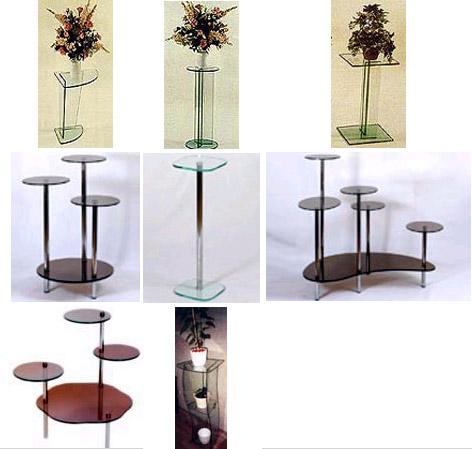 Подставка под цветы из стекла купить заказ цветов спб 1000 руб