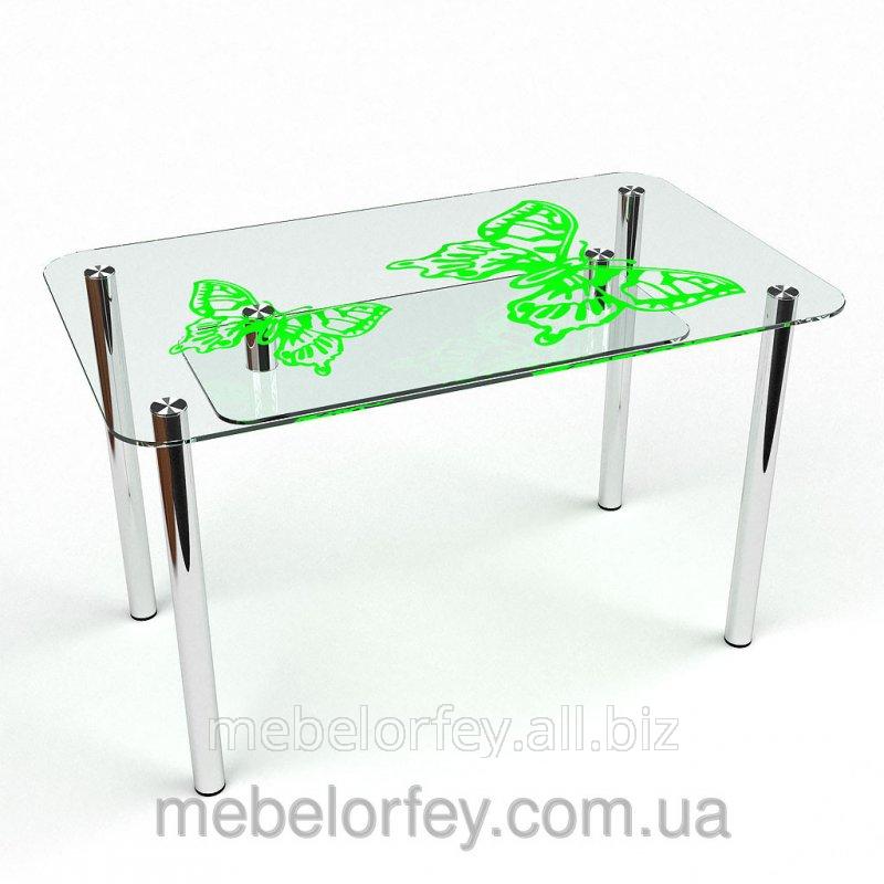 Купить Стеклянный обеденный стол Фоли-2 БЦ-Стол