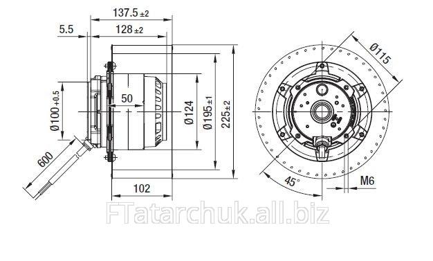 Купить Центробежный вентилятор EBMPAPST R4D225-AK10-06
