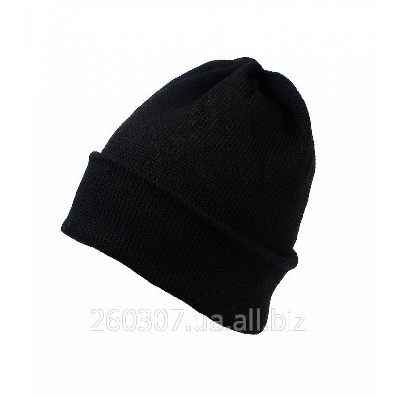 Купить Шапка теплая трикотажная, шапка вязаная