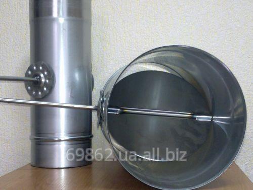 Дымоход из металла 1 мм (AISI 321) утепленный в зеркальной нержавейке