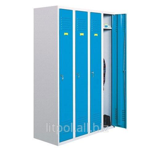 Шкаф одежный 4х-дверный металлический Sum 340