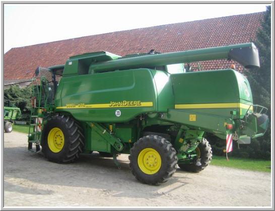 Grain harvesting combines