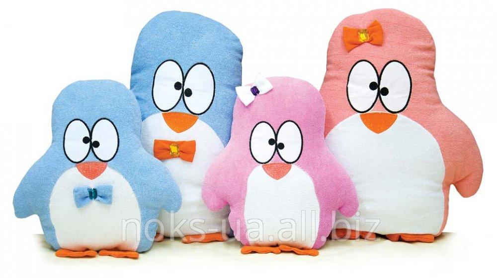 Декоративная подушка-игрушка Пингвин ТМ Ярослав,