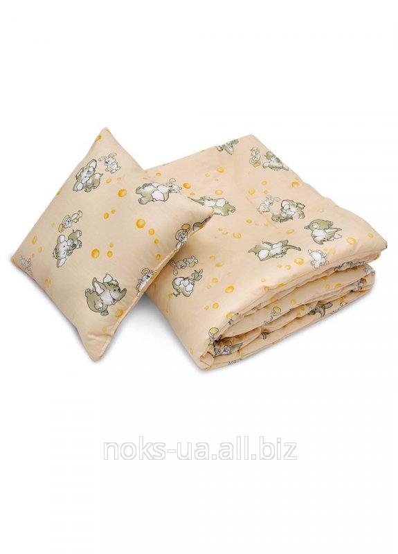 Комплект детский ТМ Ярослав, Одеяло + подушка, 40х60