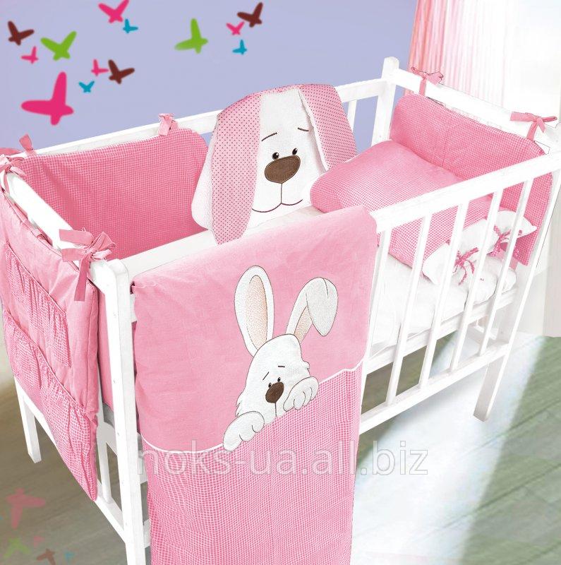 Комплект для кроватки с аппликацией ТМ Ярослав,