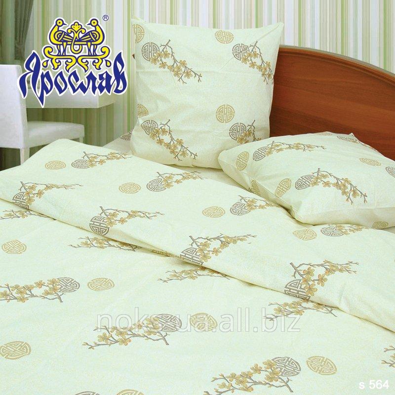 Комплект постельного белья - сатин ТМ Ярослав, s 564, двойной (175х215 см)