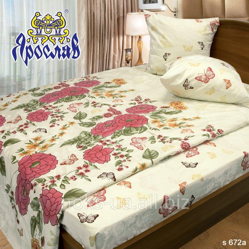 Комплект постельного белья - сатин ТМ Ярослав, s 672a, двойной (175х215 см)