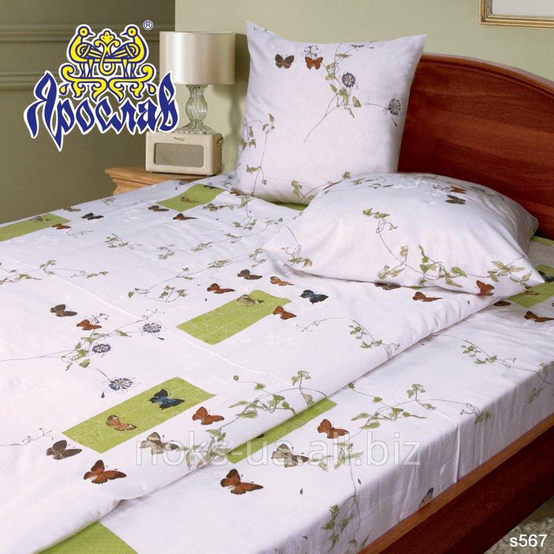 Комплект постельного белья - сатин, s 567, двойной (175х215 см)